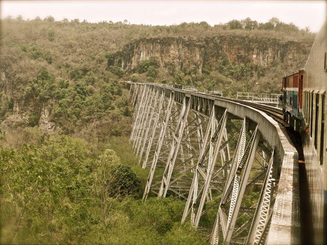 Gokeik Viaduct, Myanmar Railways