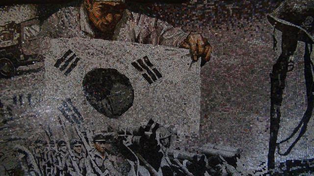 korean war mosaic