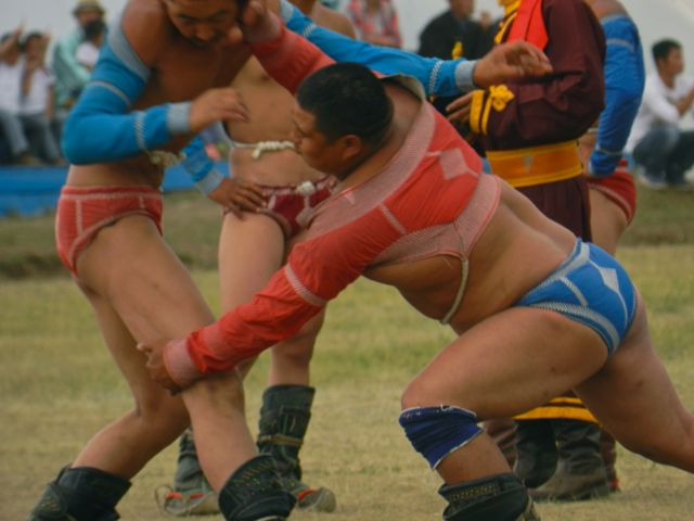 Naadam Wrestling (Mongolia Podcast)