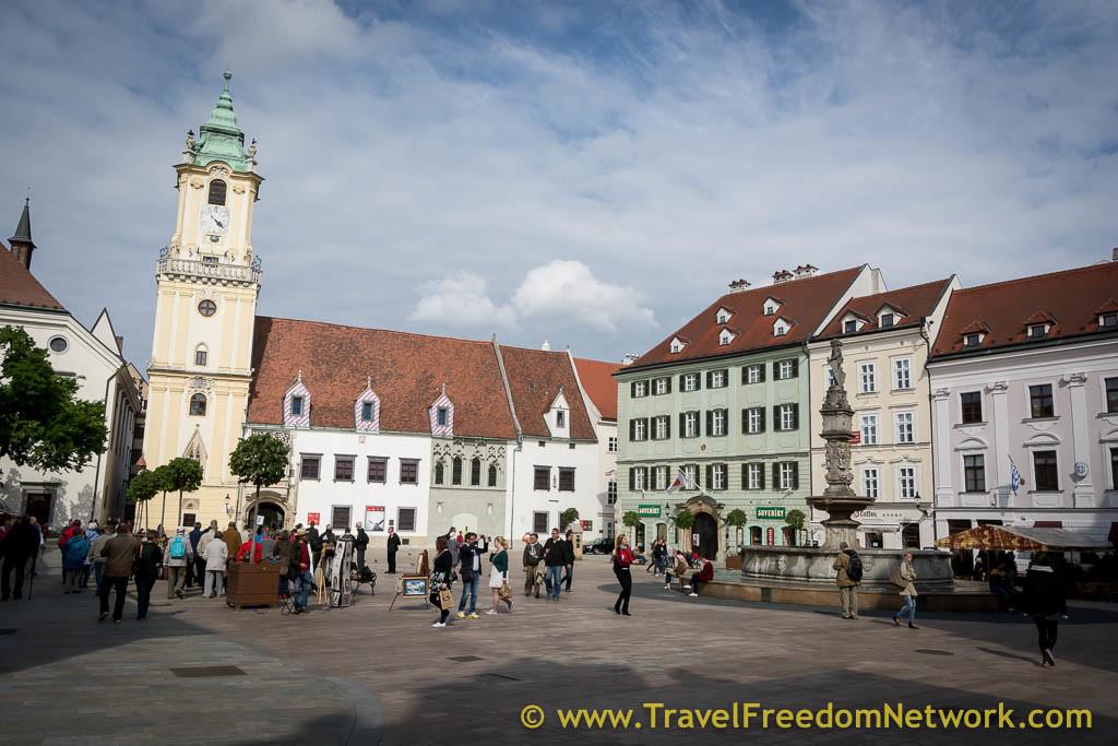 Bratislava podcast - Central Square
