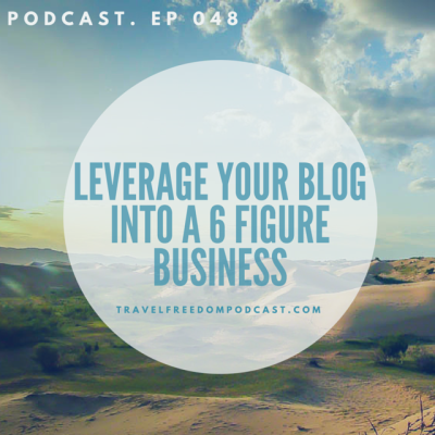 Leverage your blog into a 6-figure tour business podcast with marocomama