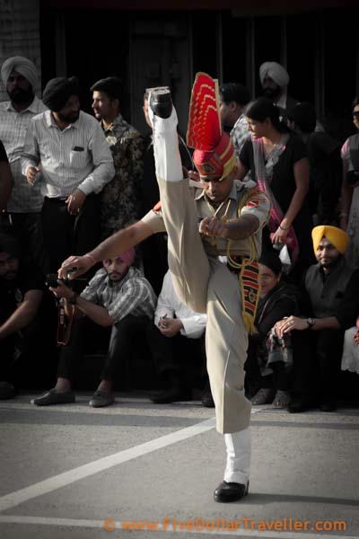 Amritsar Podcast - Wagah border Guards