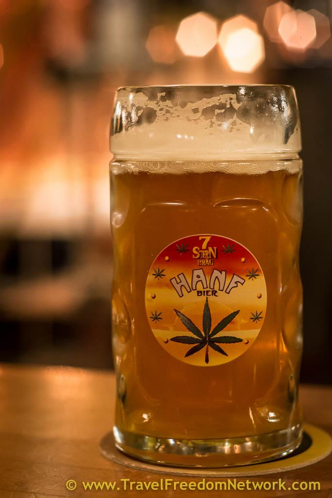 Hemp Beer from 7 Stars brewery Vienna