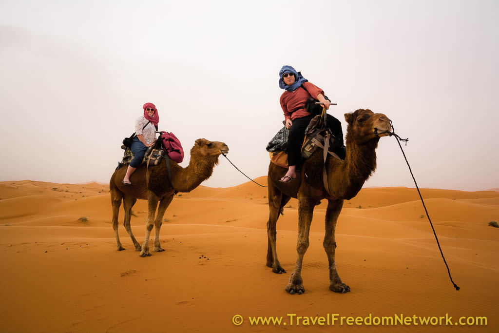 camel riding sahara desert - best and worst travel of 2015