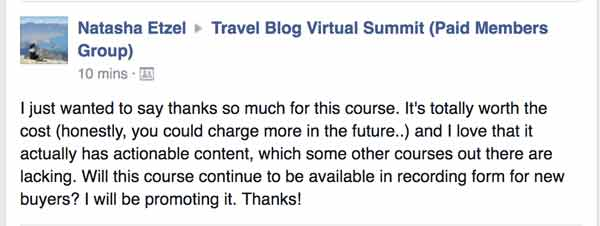 travel blog summit