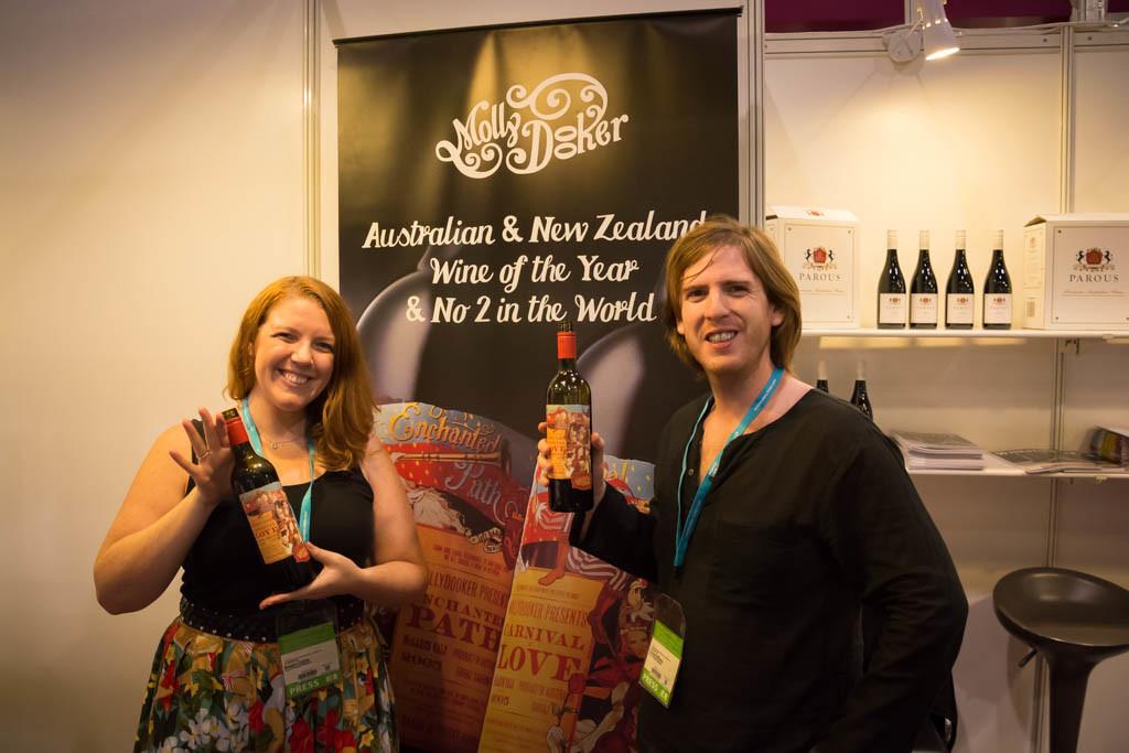Hong Kong Food and Wine Fair - Mollydooker wine