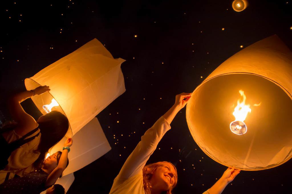 Yi Ping Lantern Festival Chiang Mai