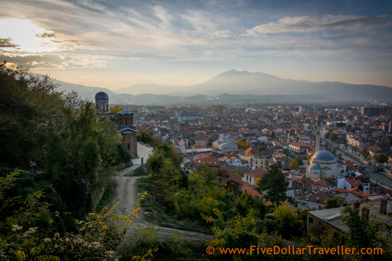 Prizren, Kosovo. View from the hill