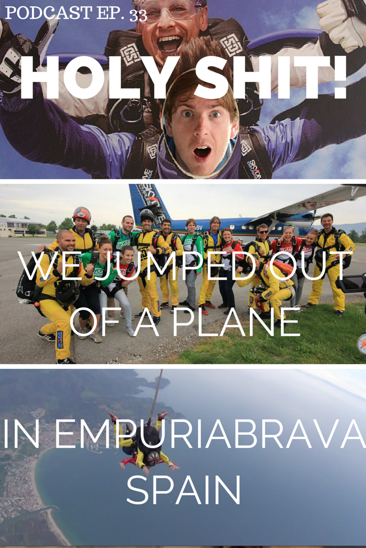 empuriabrava skydive - hear about our adventures in Costa Brava Spain