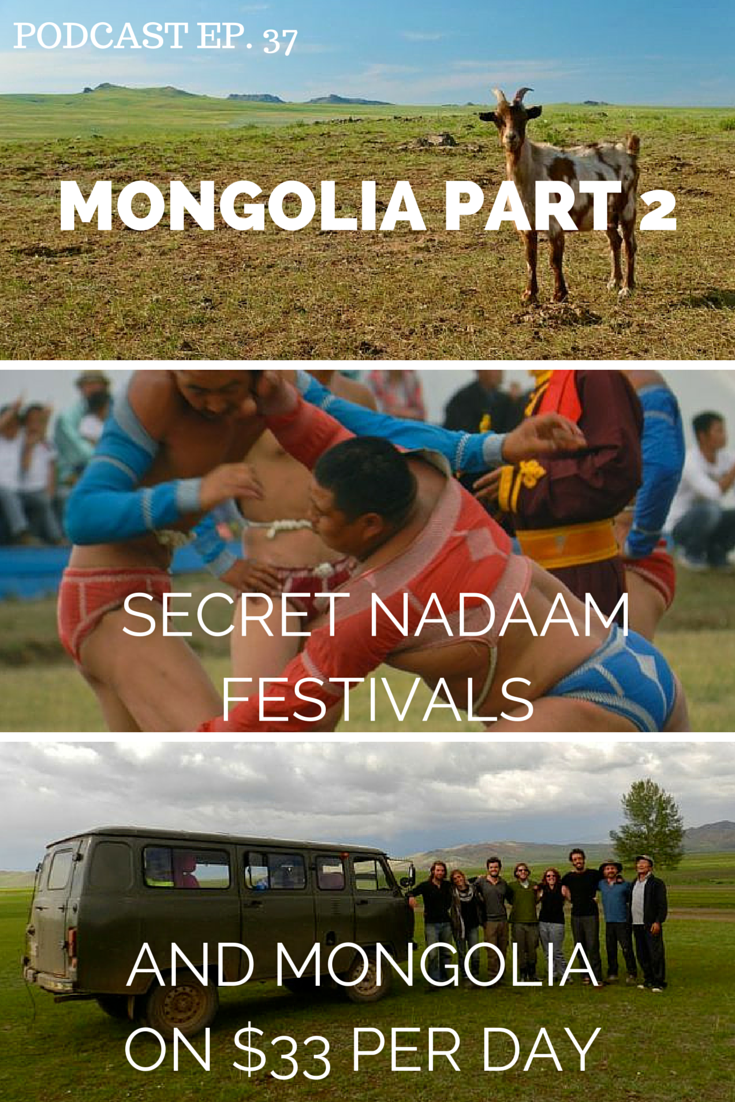 MONGOLIA TOURISM PODCAST