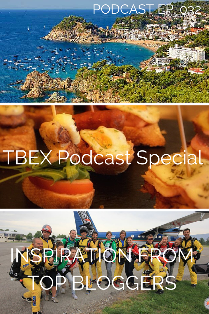 tbex podcast - we speak to the biggest travel bloggers in the business about the importance of attending conferences to expand your brand