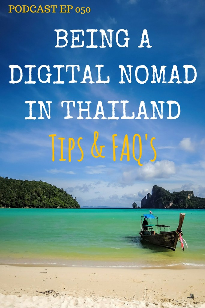 "Is Thailand the ultimate cauldron for first time digital nomads? We talk about the pros and cons of choosing Thailand to get your start and compare Chiang Mai to Koh Phangnan for being the best hub to choose. Plus, we announce the ""Travel Bloggers Retreat"" - for which we are guest speakers. 050 Being a digital nomad in Thailand: Tips & FAQs"