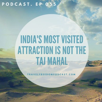 055 India's most visited attraction is NOT the Taj Mahal?