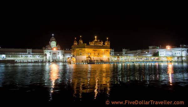Amritsar Podcast - Golden Temple night