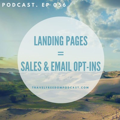 056 Landing pages = Sales & Email opt-ins