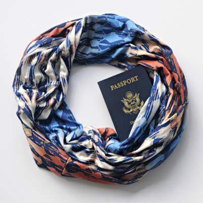 Travel Scarf from Beers & Beans