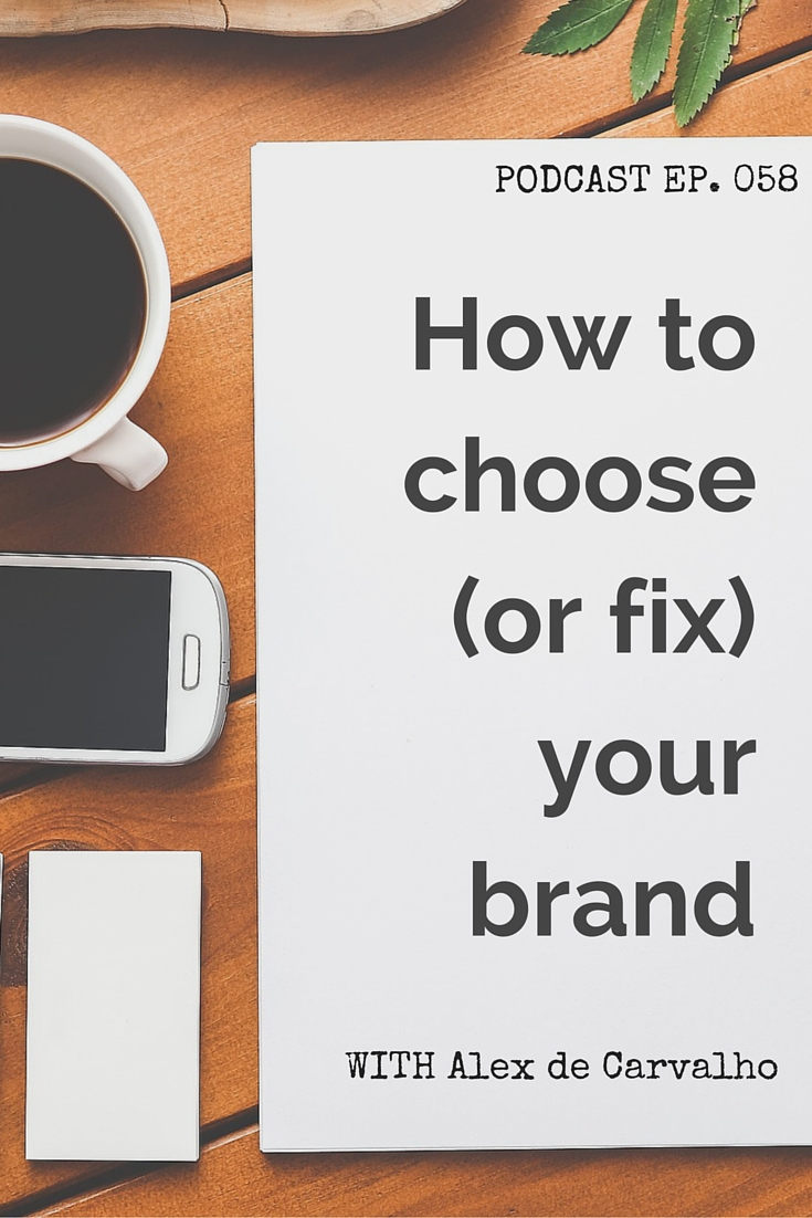 How to choose or fix your brand - IBM's Social Media Strategist, Alex de Carvalho, explains how to create a brand that clearly identifies you and your company and that can grow with you as your company develops. Plus, how to evolve or re-brand when things aren't working out.