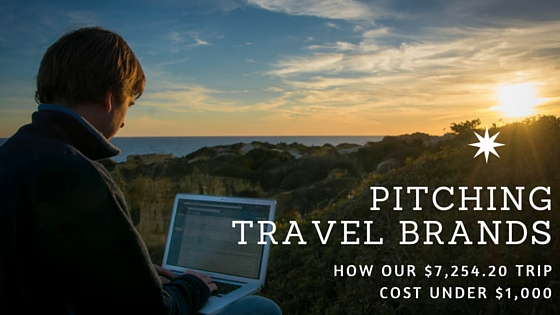 Pitching travel brands
