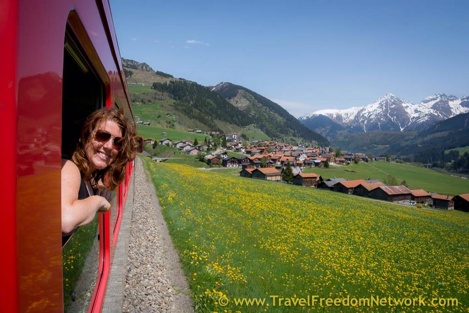 DIY Glacier express Switzerland - BEST & WORST FOOD FUN TRAVEL EXPERIENCES OF 2015