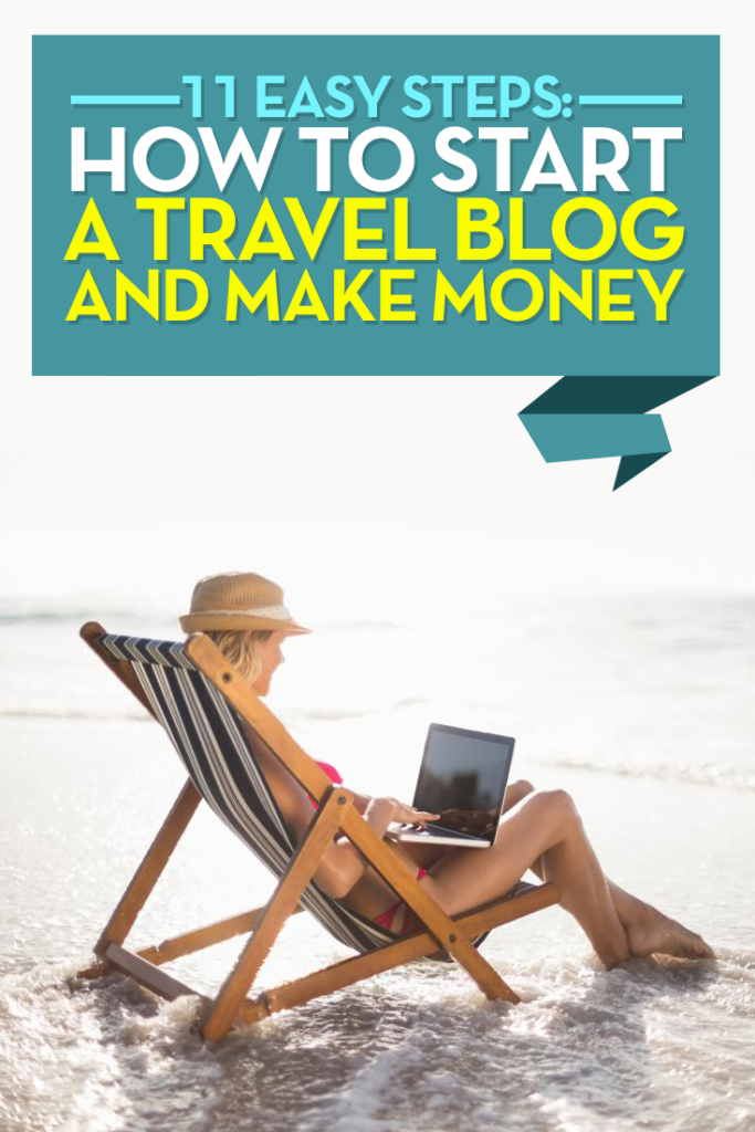 How to start a travel blog and make money: The quick 3 step guide to getting up and running in minutes + how to make your travel blog a profitable business