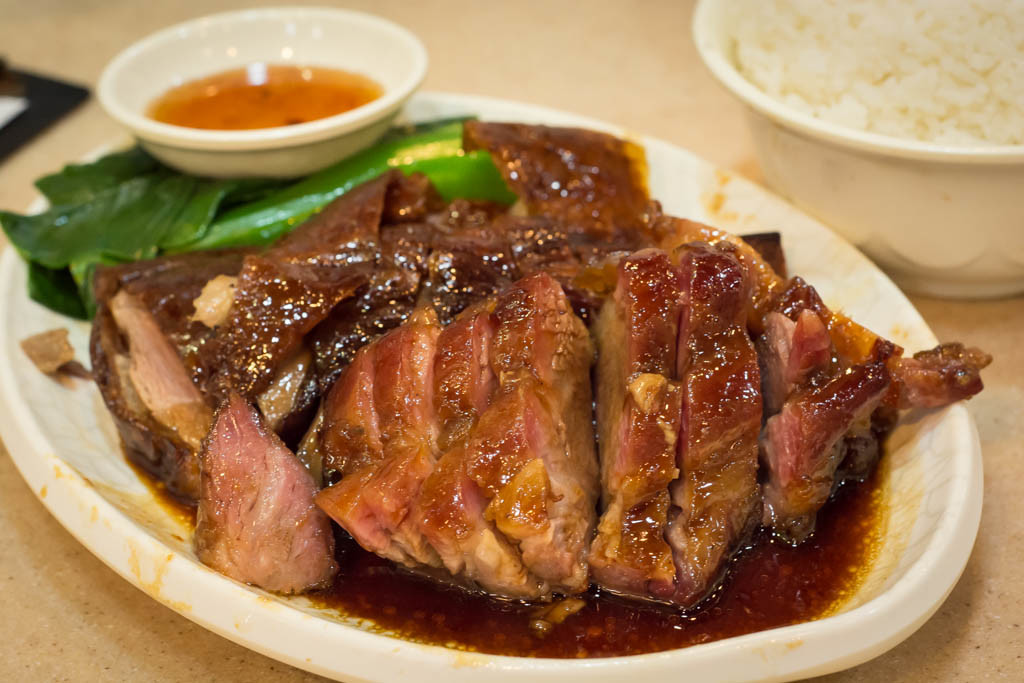 Honey pork & goose Hong Kong